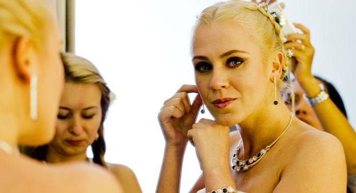 Evgeniia Hair Do Make Up 2 - Romantic Bali Wedding
