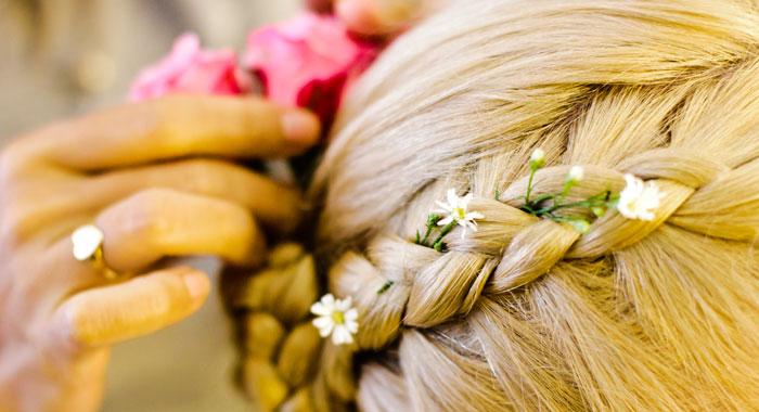 Evgeniia Hair Do Style - Romantic Bali Wedding