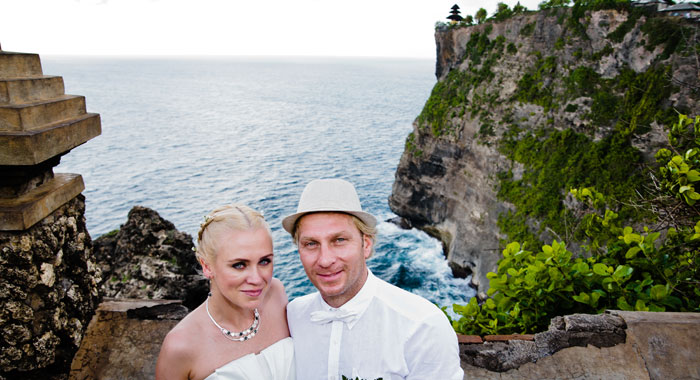 Evgeniia Pre Wedding Uluwatu - Romantic Bali Wedding