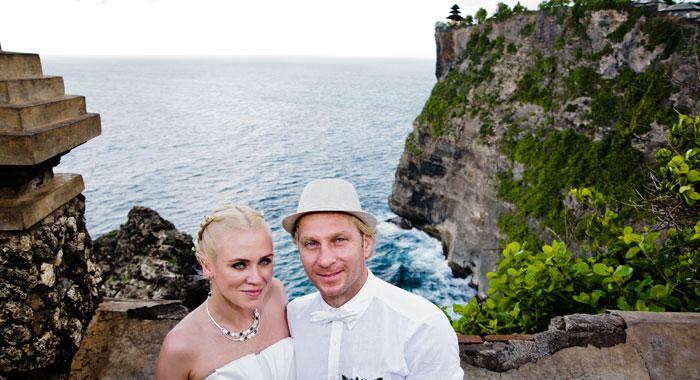 Evgeniia Pre Wedding Uluwatu - Romantic Bali Wedding