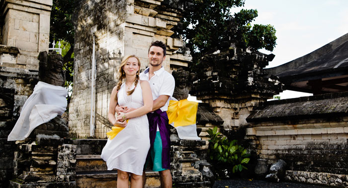 Evgeniia Pre Wedding - Romantic Bali Wedding