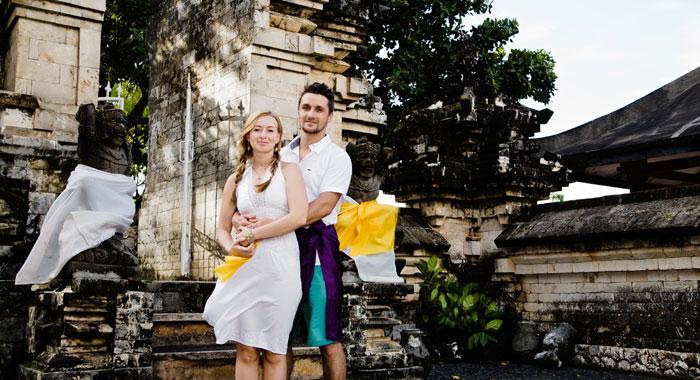 Evgeniia Pre Wedding - Romantic Bali Wedding