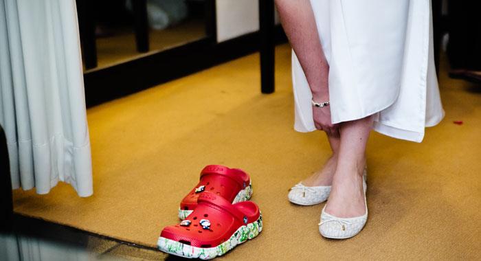 Make Up Evgeniia Wedding Shoes - Romantic Bali Wedding