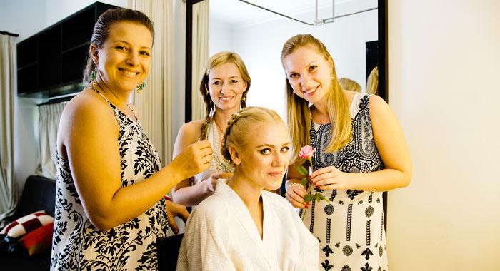 Make Up Room Evgeniia 2 - Romantic Bali Wedding