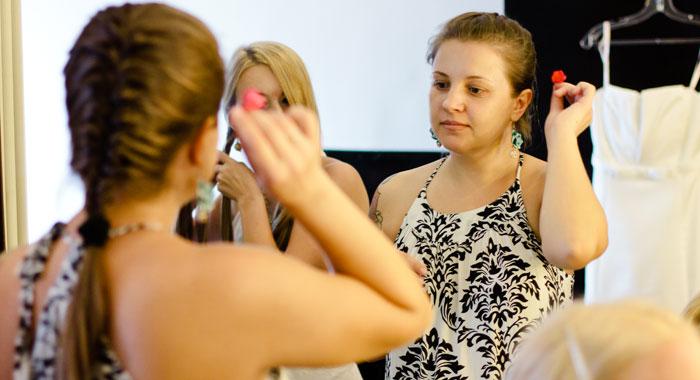 Make Up Room Evgeniia - Romantic Bali Wedding