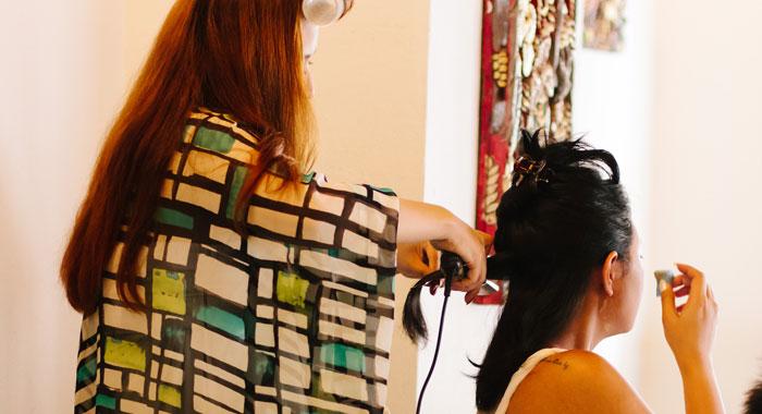 Occha Hair Do Wedding 1 - Romantic Bali Wedding