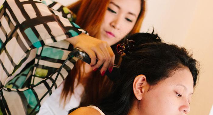 Occha Hair Do Wedding 3 - Romantic Bali Wedding
