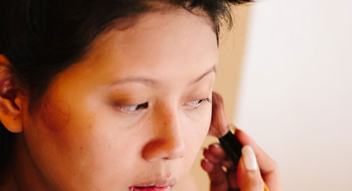 Occha Make Up Artis - Romantic Bali Wedding