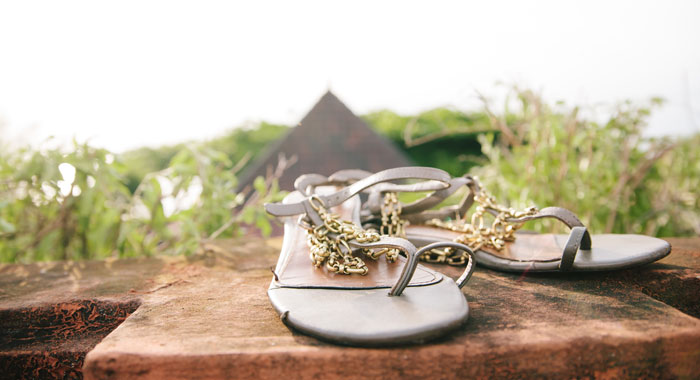 Occha Sandals Wedding - Romantic Bali Wedding