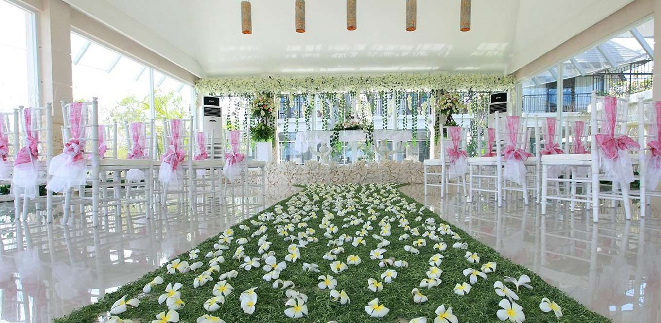 Bali Weddings - Chapel Wedding Flamingo Dewata