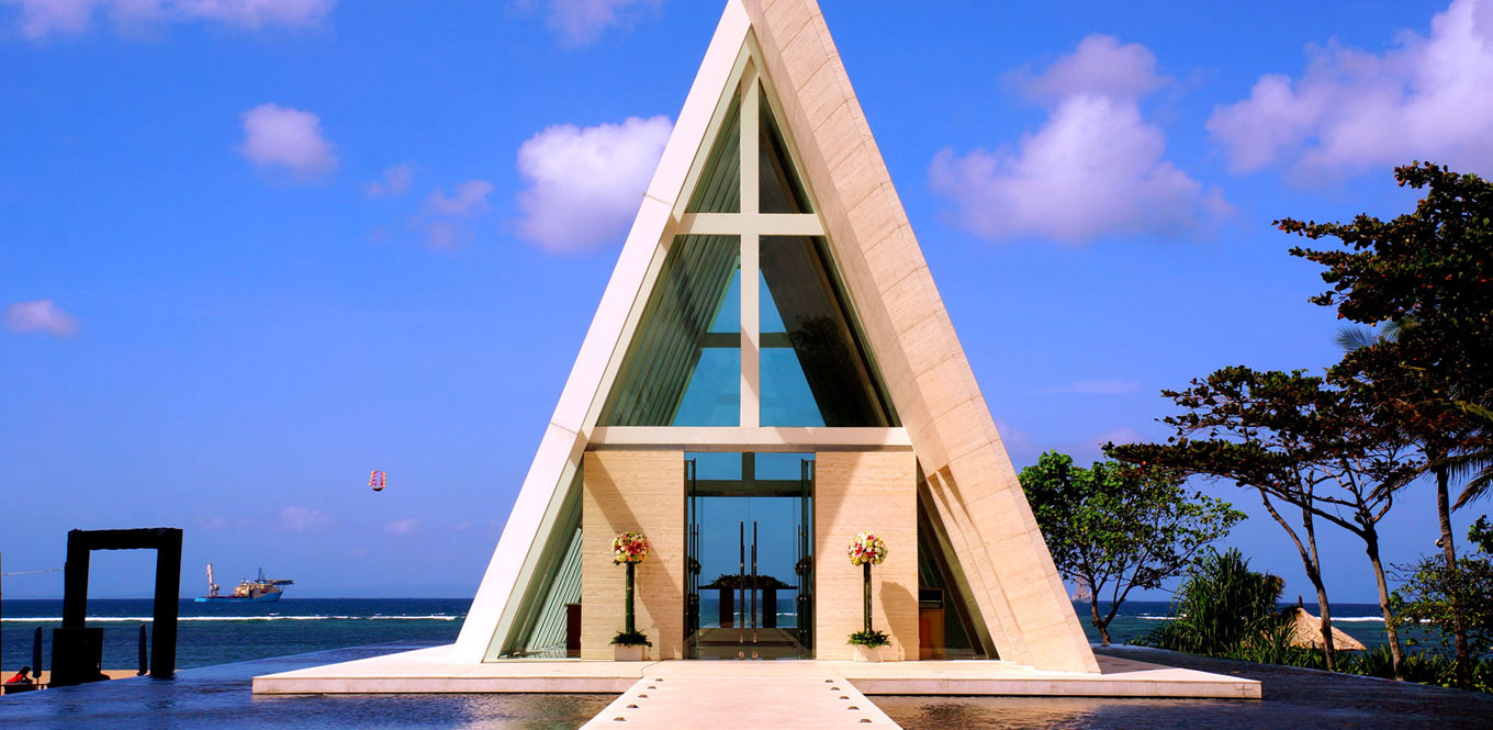 Bali Weddings - Wedding Chapel Conrad Bali