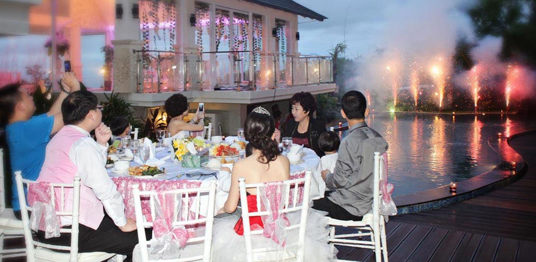 Bali Weddings - Wedding Chapel Flamingo Dewata Bali