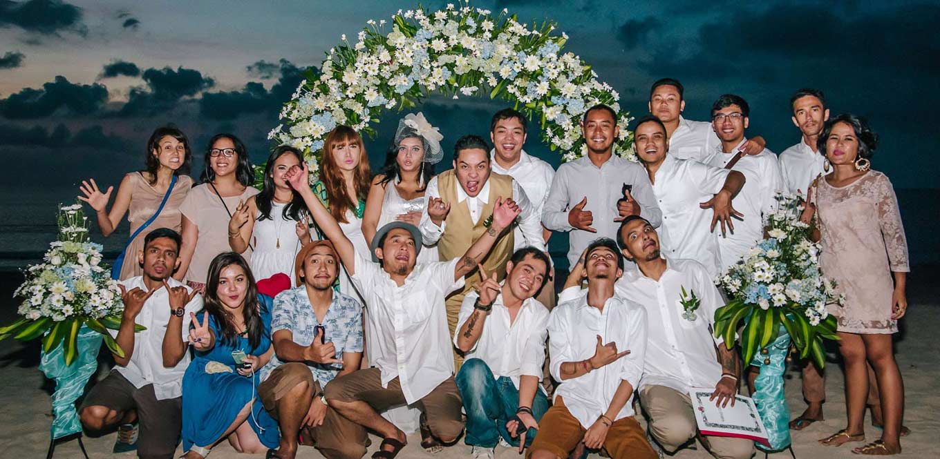 Bali Weddings - Wedding Occha Heinz Family